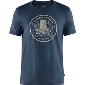 Fjällräven Fikapaus T-Shirt Homme, navy